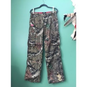 Women's Mossy Oak Camouflage Hunting Pants